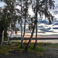 Ранним утром на рыбалке :: Андрей Хлопин