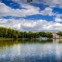 Озеро в городском парке :: Юрий Губков