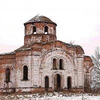 Рождественский храм. :: Александр Герасенков