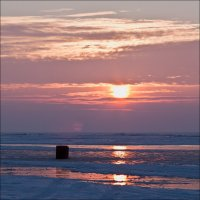 Рассвет над заливом :: Sergej Mariskin