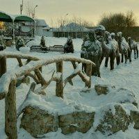 в зимнем парке :: Елена Третьякова