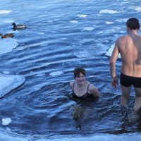Крещение в Минске 2014. :: Nonna