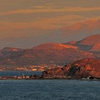 закат над бухтой Киссамос :: Алексей Меринов