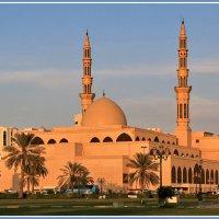 Мечеть короля Файсала :: Евгений Печенин
