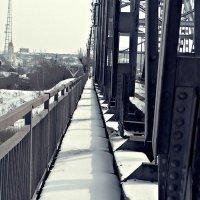 на мосту :: Елена Ганичева