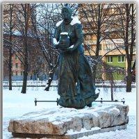 Памятник:Охтинская молочница. :: Александр Лейкум