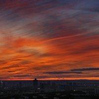 небо над городом после заката :: Вадим Доронин