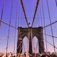 Brooklyn Bridge (New York) USA :: Katarina Ruby