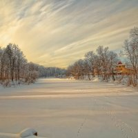 Река и солнце :: Владимир