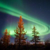Андрей Снегирев - Луна и северное сияние