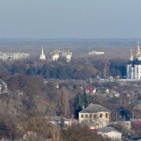 Вид на Черниговский вал с Троицкой колокольни. :: Александр Крупский