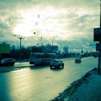 Тверской трамвай :: Дмитрий Долгов