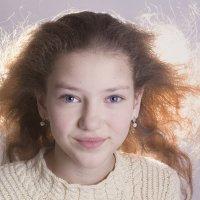 Рыжая девочка :: Марина Кириллова