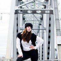 девушка на мосту :: Марьям Кружкова