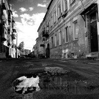 Харьков.Облака в луже. :: Андрей Колуканов