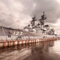 Японские корабли на р.Неве. :: Анна Тихомирова