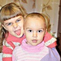 Алинка и Сашка :: Пётр Маринов