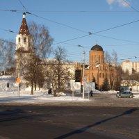 Городской пейзаж :: Геннадий Кульков
