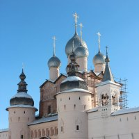 Церковь Воскресения в Ростовском Кремле. :: Инна Пономарева