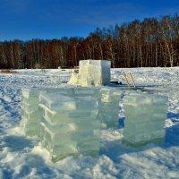 Шахта старателей по добычи льда. :: Полторыхин Юрий Полторыхин.