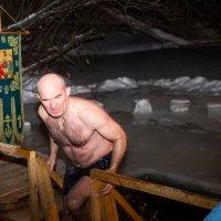 крещенское купание :: Анатолий Брусенцов