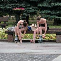 Жаль, что у нас только одна пара... :: Валерий Князькин