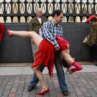 Танцы на улицах /из серии/ 14 :: Цветков Виктор Васильевич