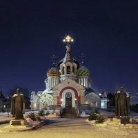 Москва патриаршая(ночь) :: юрий макаров