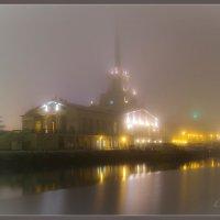 г.Сочи.Морпорт в тумане. :: Дмитрий Палюнин