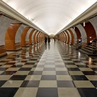 Станция метро Парк победы :: Валерий Князькин
