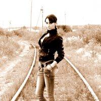 Ждем поезд :: Julia Nazirova