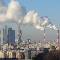 Московский морозный пейзаж... :: Владимир Павлов