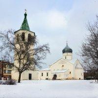 Церковь Димитрия Солунского (Великий Новгород) :: Евгений Никифоров