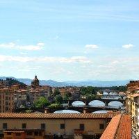 Мосты Флоренции. Италия :: Надежда Гусева