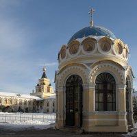 В центре  Николо-Угрешского монастыря :: Николай