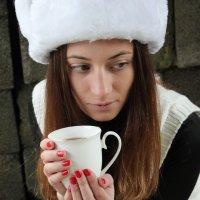 чай или кофе.... :: Анна Никитина