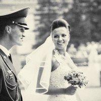 курсант и невеста :: аркадий глухеньких