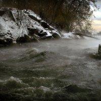 Утро зимней реки... :: Андрей Войцехов