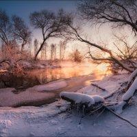 / Портрет реки в вечернем свете / :: Влад Соколовский