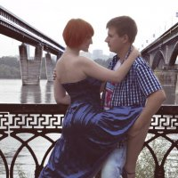 Танго у реки :: Алена Каблукова