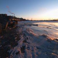 Холодный рассвет на Дону :: Алексей Лебедев