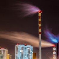 Огни маленького города :: Dmitriy Izotov