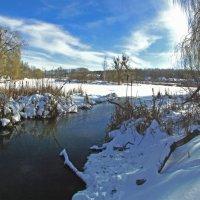 зимнее озеро :: юрий иванов