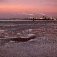 Морозный закат... :: Владимир Секерко