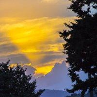 Ой красивы на Голанах закаты :: raven owle