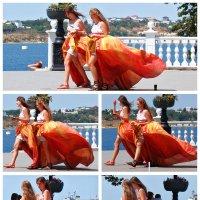 Две девушки :: Анна Лисавцова