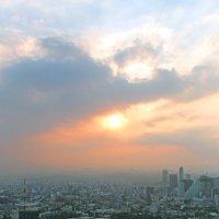 солнце на закате.. :: Надежда Шемякина
