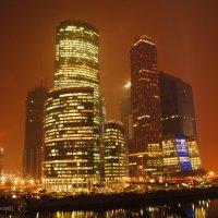Очередное фото Москва-сити :: Милена М