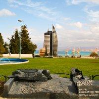Парк у морского порта :: юрий варьят