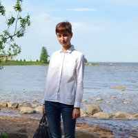 На берегу Финского залива :: Евгения Латунская